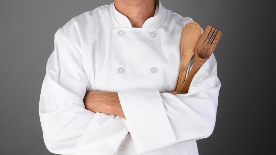White Chef's Suit