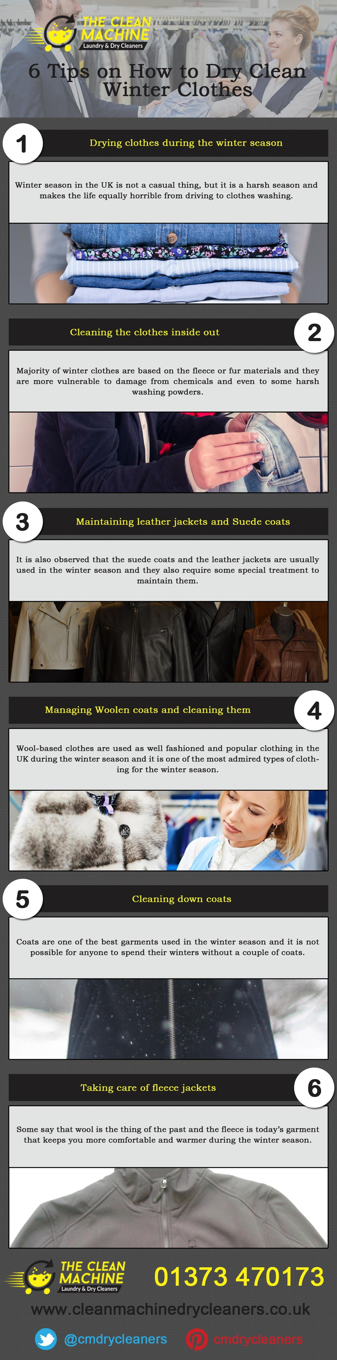 6 Tips On How To Dry Clean Winter Clothes