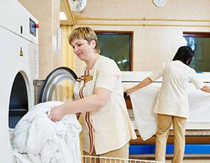 Bed Sheet Cleaning